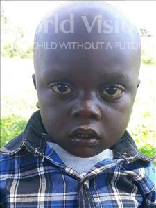 Choose a child to sponsor, like this little boy from Busitema, Samuel Baker age 5