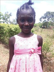 Choose a child to sponsor, like this little girl from Busitema, Jovita age 7