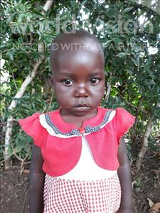 Choose a child to sponsor, like this little girl from Busitema, Beatrice age 4