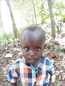Choose a child to sponsor, like this little boy from Busitema, Shadrack age 3