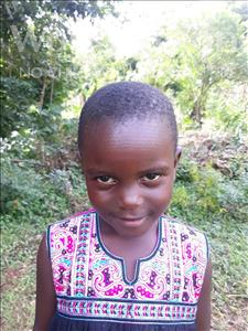 Choose a child to sponsor, like this little girl from Busitema, Mariam age 6