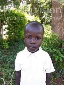Choose a child to sponsor, like this little boy from Busitema, Ibra age 4
