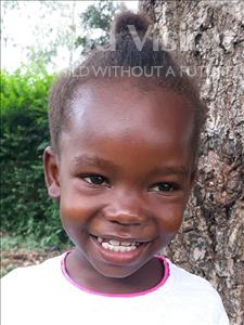 Choose a child to sponsor, like this little girl from Busitema, Sylivia age 6