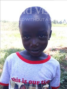 Choose a child to sponsor, like this little boy from Busitema, Russian age 6