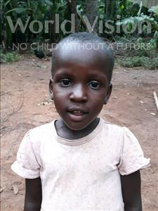 Choose a child to sponsor, like this little girl from Busitema, Christine age 4