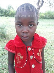 Choose a child to sponsor, like this little girl from Busitema, Grace age 5