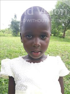 Choose a child to sponsor, like this little girl from Busitema, Precious age 4