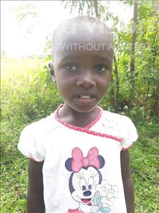 Choose a child to sponsor, like this little girl from Busitema, Qinter age 4