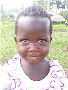 Choose a child to sponsor, like this little girl from Busitema, Mancini Mary age 3