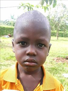 Choose a child to sponsor, like this little boy from Busitema, Stephen age 3