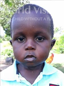 Choose a child to sponsor, like this little boy from Busitema, Collin age 2