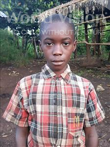 Choose a child to sponsor, like this little boy from Ntwetwe, Anthony age 10