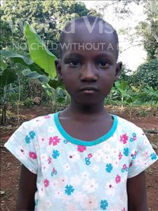 Choose a child to sponsor, like this little girl from Ntwetwe, Maria age 6