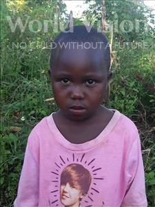 Choose a child to sponsor, like this little girl from Ntwetwe, Shanita age 5