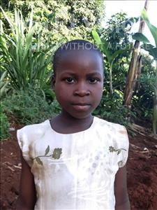 Choose a child to sponsor, like this little girl from Ntwetwe, Josephine age 7