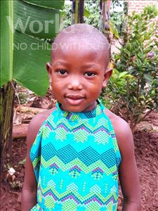 Choose a child to sponsor, like this little girl from Ntwetwe, Patricia age 5