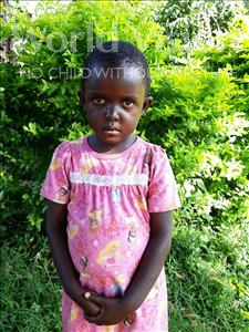 Choose a child to sponsor, like this little girl from Ntwetwe, Rebbecer age 4