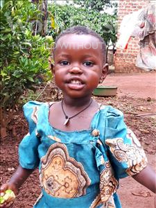 Choose a child to sponsor, like this little girl from Ntwetwe, Jovanis age 2