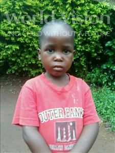 Choose a child to sponsor, like this little girl from Ntwetwe, Layimon age 4