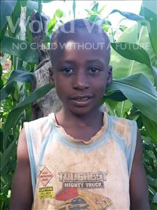 Choose a child to sponsor, like this little boy from Ntwetwe, Evanis age 6