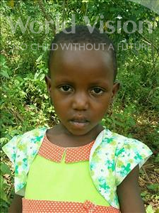 Choose a child to sponsor, like this little girl from Ntwetwe, Harriet age 4