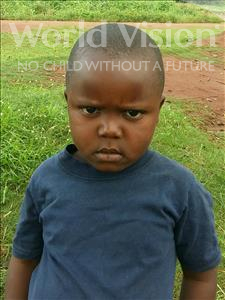 Choose a child to sponsor, like this little boy from Ntwetwe, Sekyewa age 5