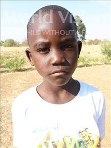 Choose a child to sponsor, like this little boy from Keembe, Andrew age 8