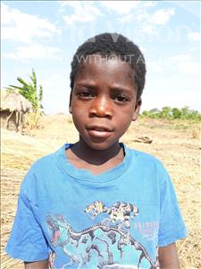 Choose a child to sponsor, like this little boy from Keembe, Justine Jr age 9