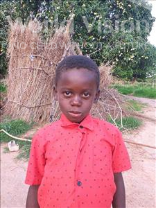 Choose a child to sponsor, like this little boy from Keembe, Gift age 8