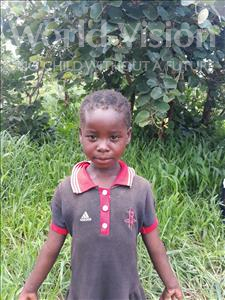 Choose a child to sponsor, like this little girl from Keembe, Angela age 6