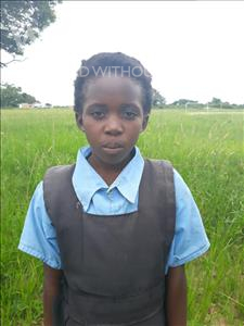Choose a child to sponsor, like this little girl from Keembe, Ester age 10