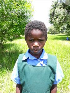 Choose a child to sponsor, like this little girl from Keembe, Docas age 6