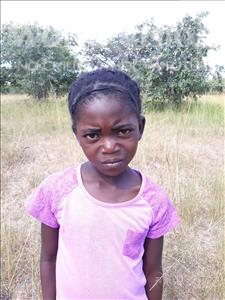 Choose a child to sponsor, like this little girl from Keembe, Lisa age 7