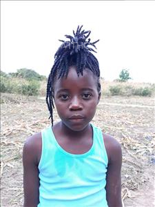 Choose a child to sponsor, like this little girl from Keembe, Chipo age 8