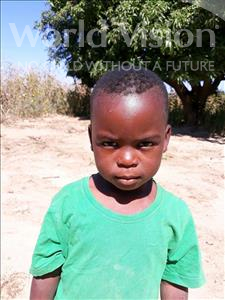 Choose a child to sponsor, like this little boy from Keembe, Alick age 4