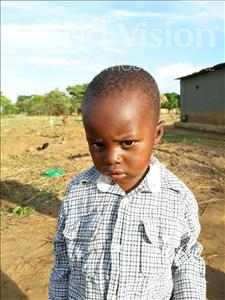 Choose a child to sponsor, like this little boy from Keembe, Bota age 2