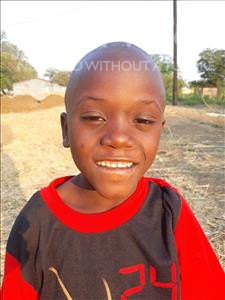Choose a child to sponsor, like this little boy from Keembe, Prosper age 7