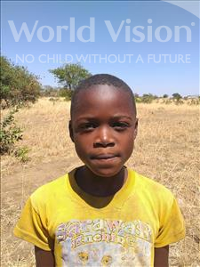 Choose a child to sponsor, like this little girl from Keembe, Getrude age 7