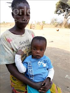 Choose a child to sponsor, like this little boy from Keembe, David age 2