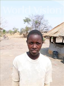 Choose a child to sponsor, like this little boy from Keembe, Antorny age 11