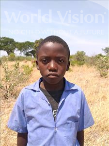 Choose a child to sponsor, like this little boy from Keembe, Billy Jr age 7