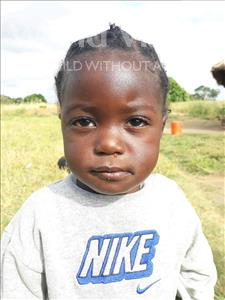 Choose a child to sponsor, like this little girl from Keembe, Judith age 1