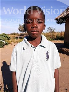 Choose a child to sponsor, like this little boy from Keembe, Aron age 10