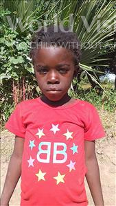 Choose a child to sponsor, like this little girl from Keembe, Coronayi age 7