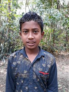 Choose a child to sponsor, like this little boy from Ghoraghat, Joy age 12