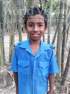 Choose a child to sponsor, like this little boy from Ghoraghat, Tafsirul age 10