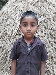 Choose a child to sponsor, like this little boy from Ghoraghat, Himayeth age 7