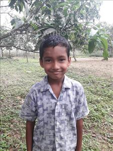 Choose a child to sponsor, like this little boy from Ghoraghat, Ashikur Ashik age 7