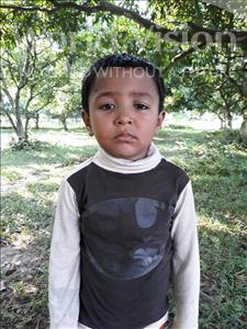 Choose a child to sponsor, like this little boy from Ghoraghat, Sourav Shahadat age 4