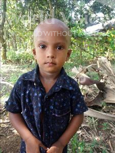 Shakil, aged 3, from Bangladesh, is hoping for a World Vision sponsor